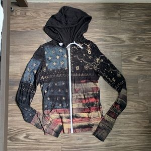 Miss Me Flag Jacket
